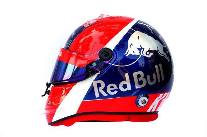 F1 | ダニール・クビアト(Daniil Kvyat) 2019年のヘルメット2
