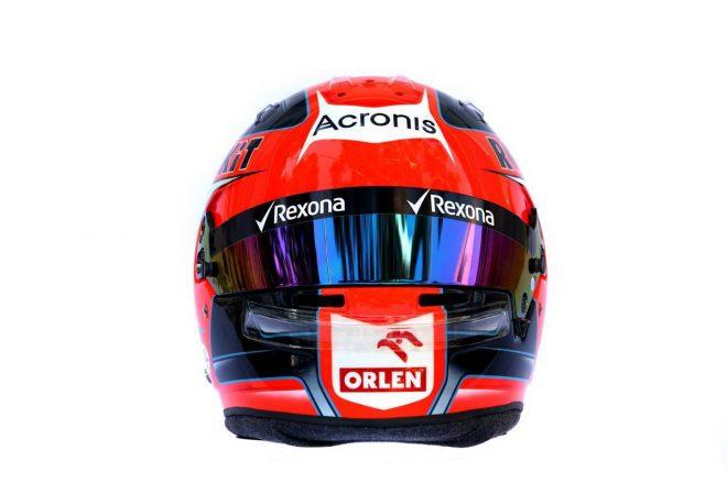 F1 | ロバート・クビサ(Robert Kubica) 2019年のヘルメット3