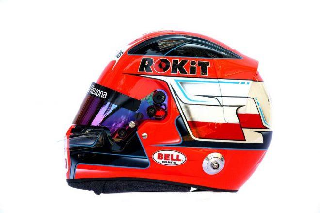 F1 | ロバート・クビサ(Robert Kubica) 2019年のヘルメット2
