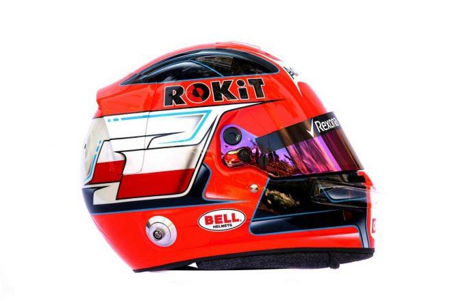 F1 | ロバート・クビサ(Robert Kubica) 2019年のヘルメット1