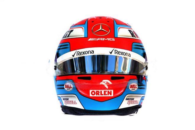 F1 | ジョージ・ラッセル(George Russell) 2019年のヘルメット3