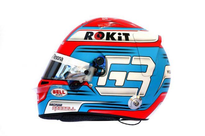 F1 | ジョージ・ラッセル(George Russell) 2019年のヘルメット2