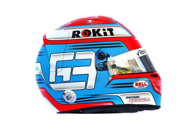 F1 | ジョージ・ラッセル(George Russell) 2019年のヘルメット1