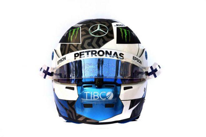 F1 | バルテリ・ボッタス(Valtteri Bottas) 2019年のヘルメット3