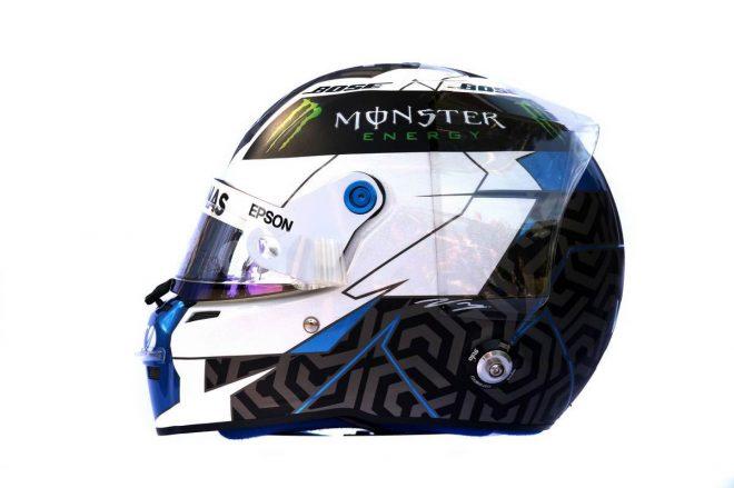 F1 | バルテリ・ボッタス(Valtteri Bottas) 2019年のヘルメット2