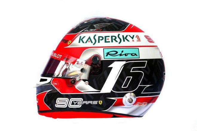 F1 | シャルル・ルクレール(Charles Leclerc) 2019年のヘルメット2