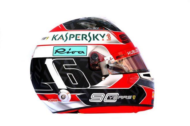 F1 | シャルル・ルクレール(Charles Leclerc) 2019年のヘルメット1