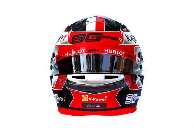 F1 | シャルル・ルクレール(Charles Leclerc) 2019年のヘルメット3