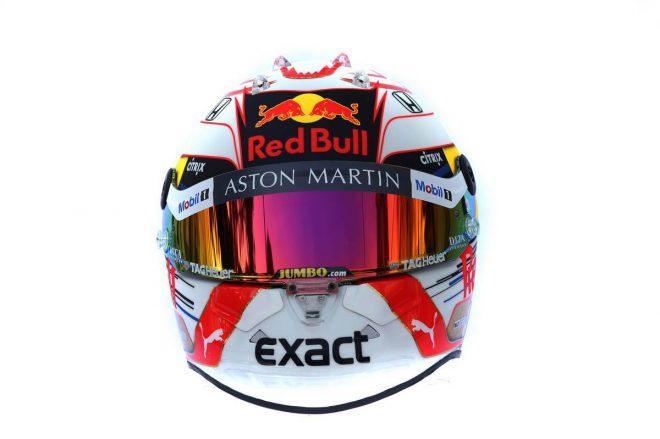 F1 | マックス・フェルスタッペン(Max Verstappen) 2019年のヘルメット3