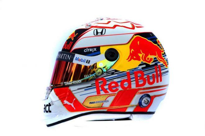 F1 | マックス・フェルスタッペン(Max Verstappen) 2019年のヘルメット2