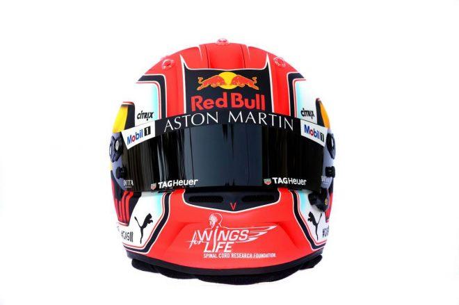 F1 | ピエール・ガスリー(Pierre Gasly) 2019年のヘルメット3