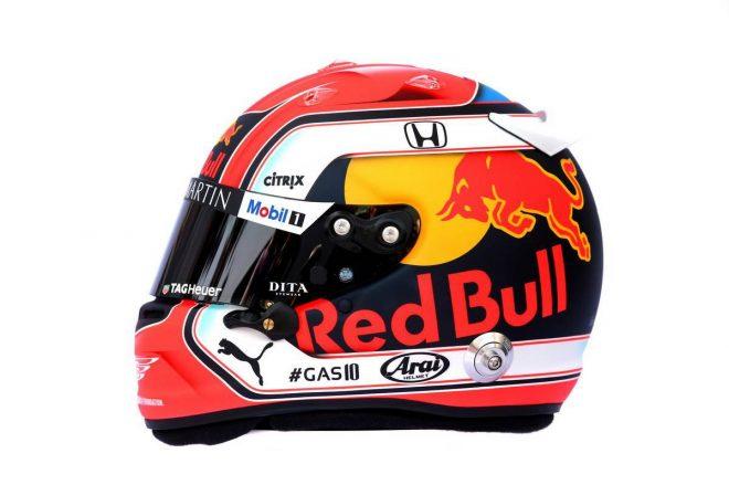 F1 | ピエール・ガスリー(Pierre Gasly) 2019年のヘルメット2
