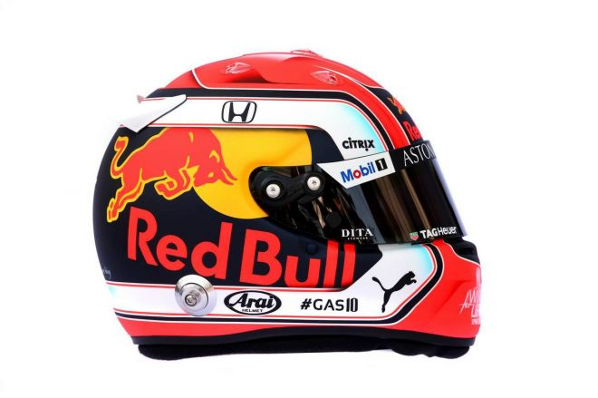 F1 | ピエール・ガスリー(Pierre Gasly) 2019年のヘルメット1