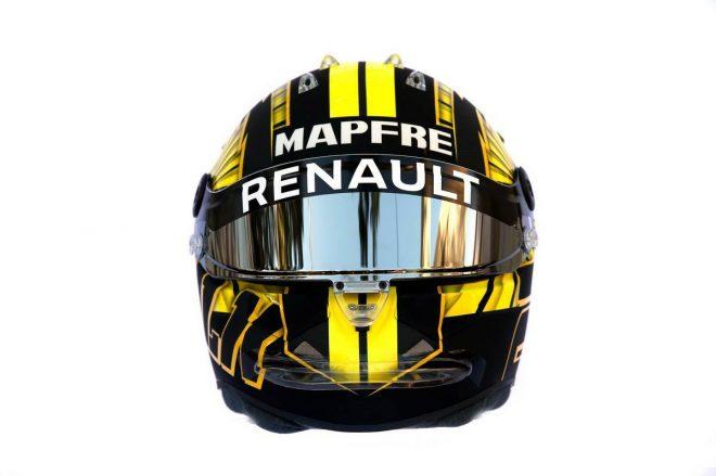 F1 | ニコ・ヒュルケンベルグ(Nico Hulkenberg) 2019年のヘルメット3