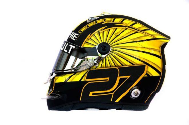 F1 | ニコ・ヒュルケンベルグ(Nico Hulkenberg) 2019年のヘルメット2