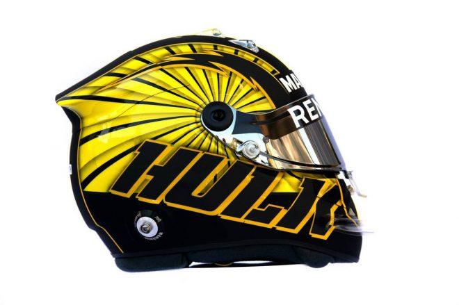 F1 | ニコ・ヒュルケンベルグ(Nico Hulkenberg) 2019年のヘルメット1