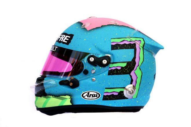 F1 | ダニエル・リカルド(Daniel Ricciardo) 2019年のヘルメット2