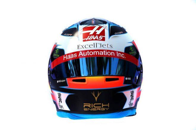 F1 | ロマン・グロージャン(Romain Grosjean) 2019年のヘルメット3