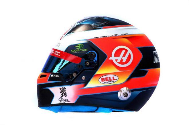 F1 | ロマン・グロージャン(Romain Grosjean) 2019年のヘルメット2