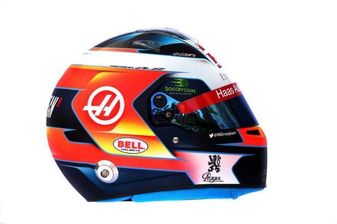 F1 | ロマン・グロージャン(Romain Grosjean) 2019年のヘルメット1