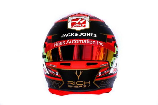 F1 | ケビン・マグヌッセン(Kevin Magnussen) 2019年のヘルメット3