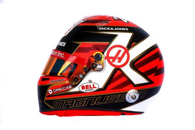 F1 | ケビン・マグヌッセン(Kevin Magnussen) 2019年のヘルメット2