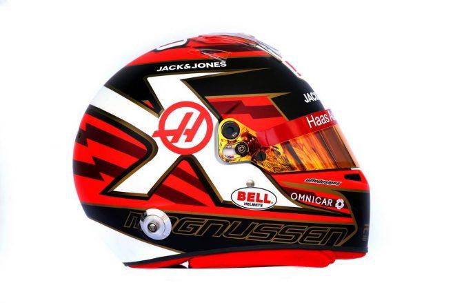 F1 | ケビン・マグヌッセン(Kevin Magnussen) 2019年のヘルメット1