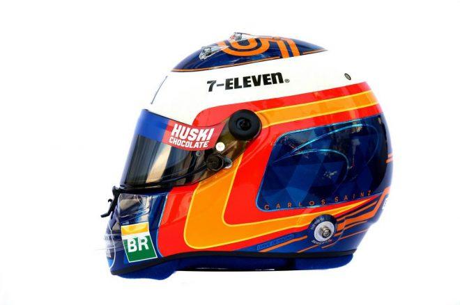 F1 | カルロス・サインツJr.(Carlos Sainz Jr.) 2019年のヘルメット2