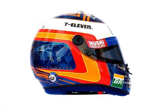 F1 | カルロス・サインツJr.(Carlos Sainz Jr.) 2019年のヘルメット1