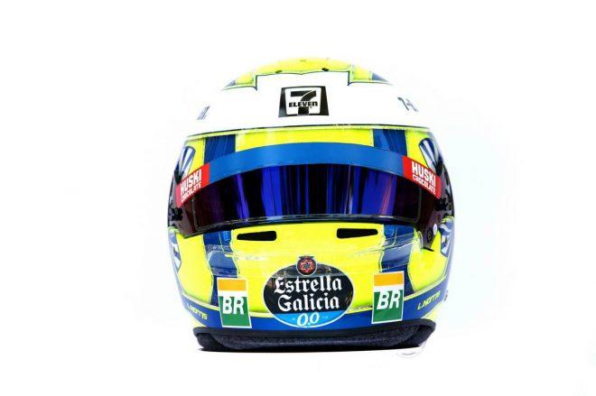 F1 | ランド・ノリス(Lando Norris) 2019年のヘルメット3