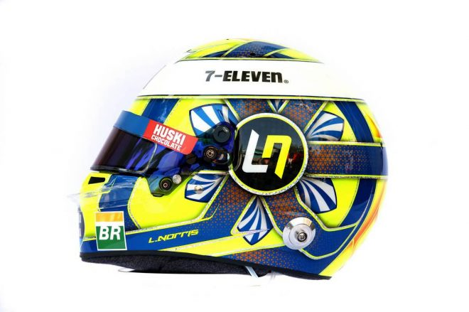 F1 | ランド・ノリス(Lando Norris) 2019年のヘルメット1