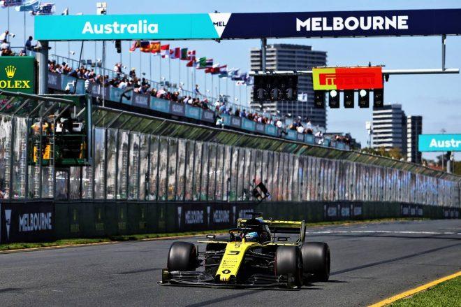 2019年F1第1戦オーストラリアGP金曜フリー走行 ダニエル・リカルド(ルノー)