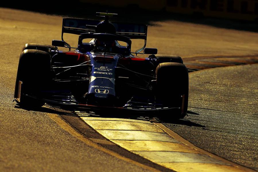 2019年F1第1戦オーストラリアGP金曜フリー走行 アレクサンダー・アルボン(トロロッソ・ホンダ)