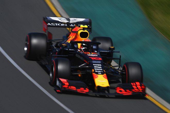 2019年F1第1戦オーストラリアGP金曜フリー走行 ピエール・ガスリー(レッドブル・ホンダ)
