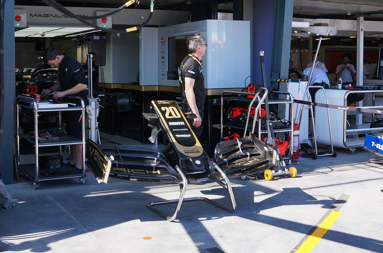 2019年F1オーストラリアGP フロントウイング
