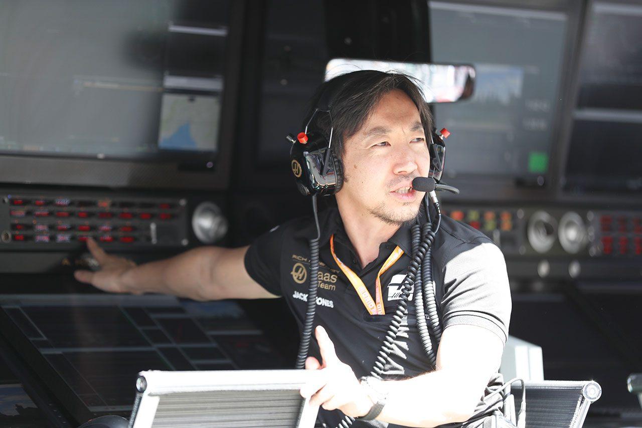 2019年F1第1戦オーストラリアGP金曜フリー走行 ハースF1の小松礼雄エンジニア