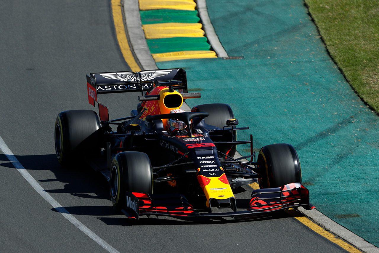 2019年F1第1戦オーストラリアGP金曜フリー走行 マックス・フェルスタッペン(レッドブル・ホンダ)