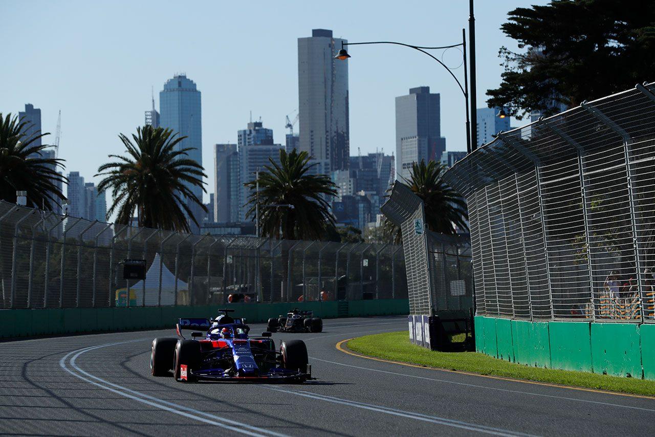 2019年F1第1戦オーストラリアGP金曜フリー走行 ダニール・クビアト(トロロッソ・ホンダ)