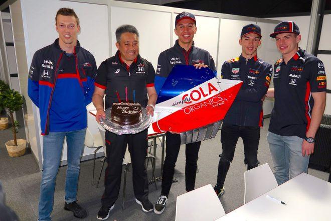 ホンダの山本雅史モータースポーツ部長が55歳の誕生日