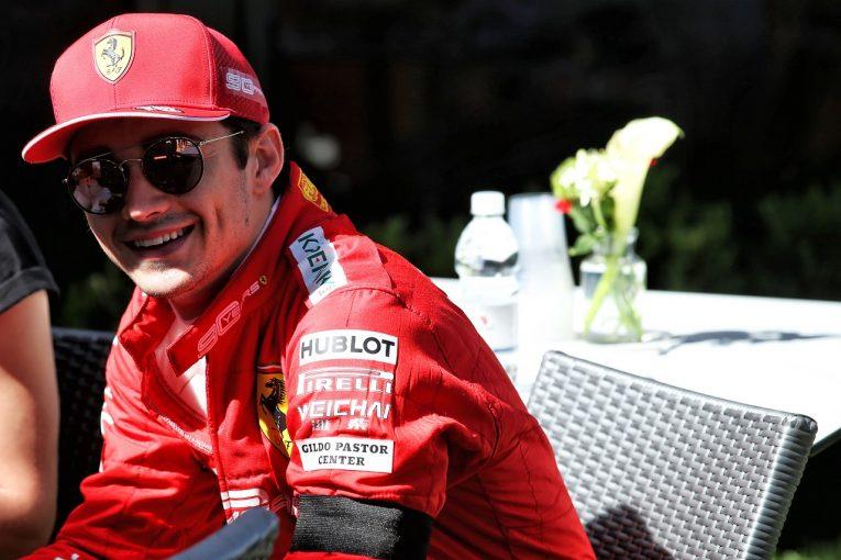 F1 | ルクレール「パニックに陥ったりしていない。予選で真の序列を確認しよう」:フェラーリ F1オーストラリアGP金曜