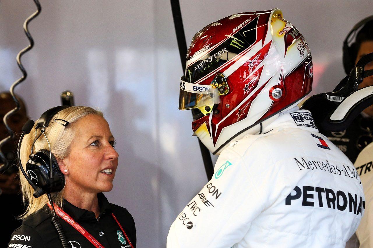 2019年F1第1戦オーストラリアGP ルイス・ハミルトン(メルセデス)