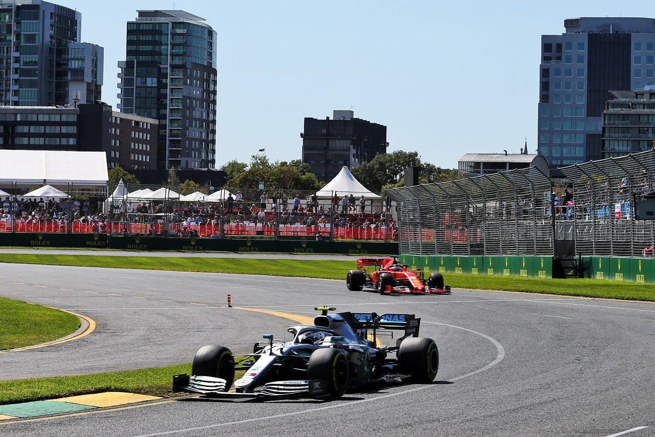 2019年F1第1戦オーストラリアGP バルテリ・ボッタス(メルセデス)