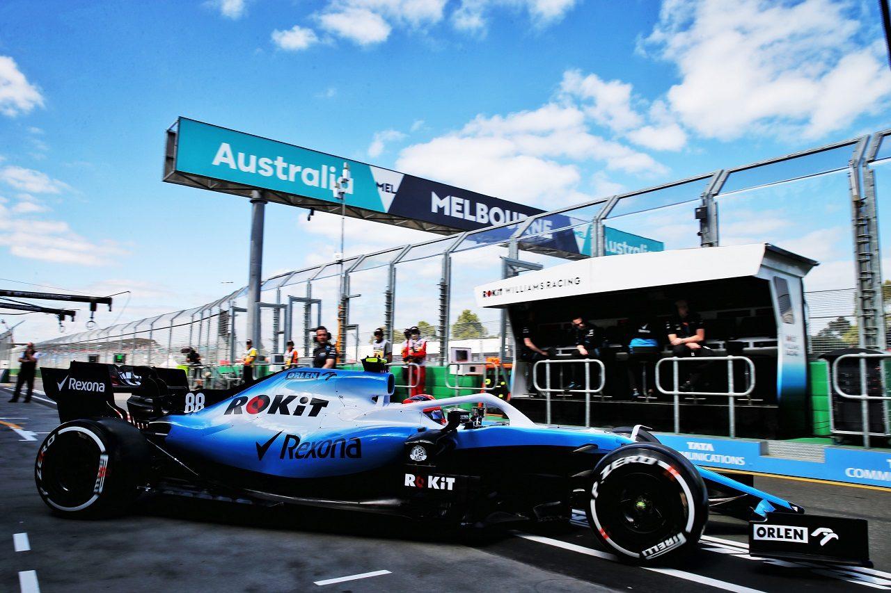 2019年F1第1戦オーストラリアGP ロバート・クビサ(ウイリアムズ)