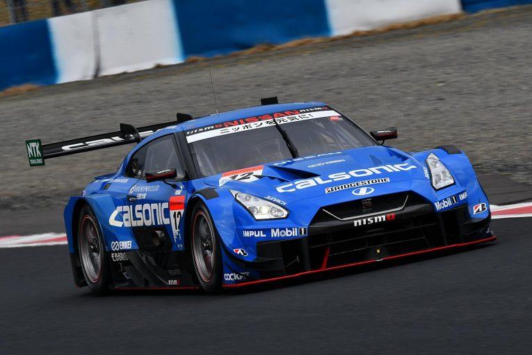 スーパーGT | スーパーGT岡山公式テストがスタート。初日午前はカルソニック首位。GT-Rがワン・ツー