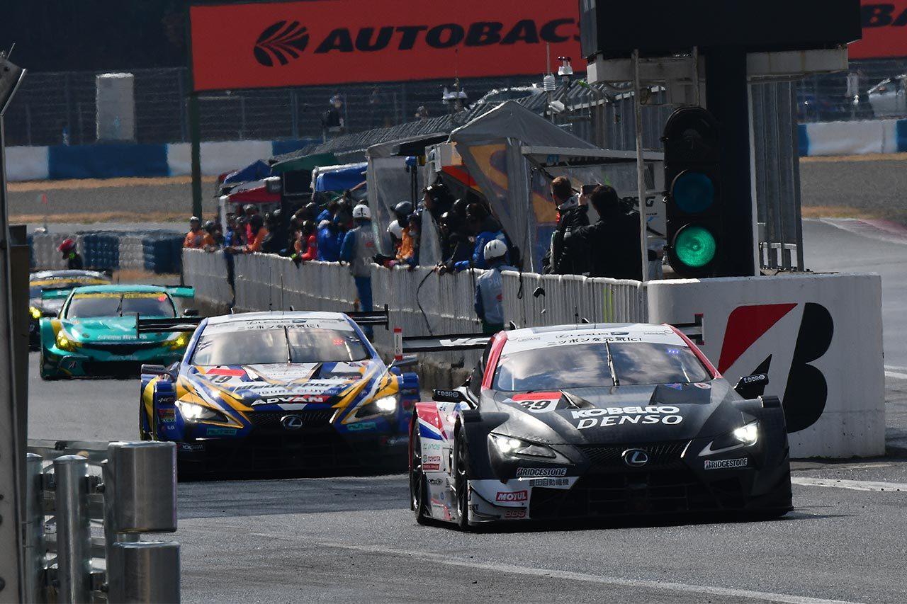 スーパーGT岡山公式テストがスタート。初日午前はカルソニック首位。GT-Rがワン・ツー