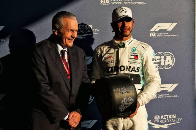 2019年F1開幕戦オーストラリアGP予選日 ルイス・ハミルトン(メルセデス)