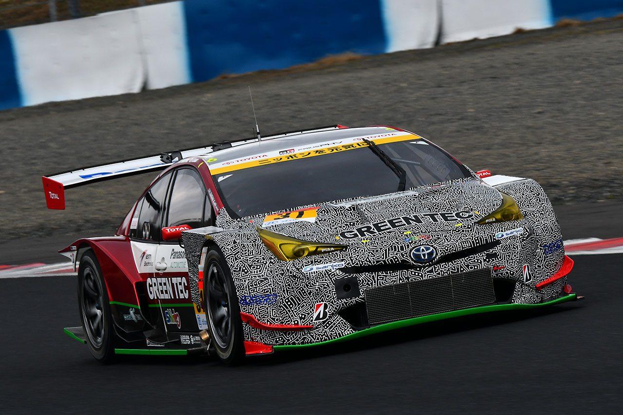 スーパーGT岡山公式テスト:前はプリウス、うしろはPHV……31号車PRIUS PHV apr GTのテスト限定仕様のワケ