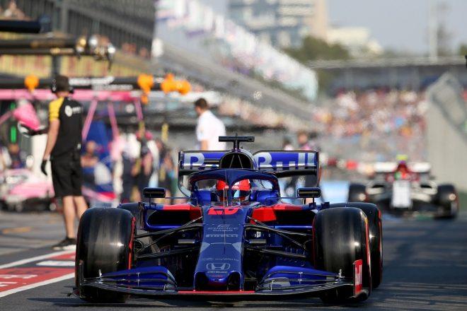 2019年F1第1戦オーストラリアGP ダニール・クビアト(トロロッソ・ホンダ)