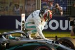 F1 | ハミルトンが84回目のポール「フェラーリを0.7秒引き離せるなんて、思ってもいなかった」:メルセデス F1オーストラリアGP土曜