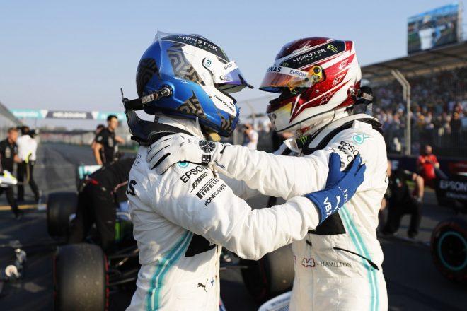 2019年F1第1戦オーストラリアGP予選 ルイス・ハミルトンとバルテリ・ボッタスがメルセデス1-2を達成